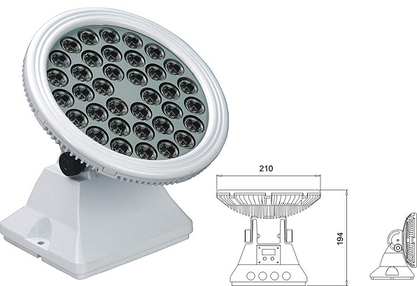 Led DMX argia,led tunel light,25W 48W LED koordenatu karratua 2, LWW-6-36P, KARNAR INTERNATIONAL GROUP LTD