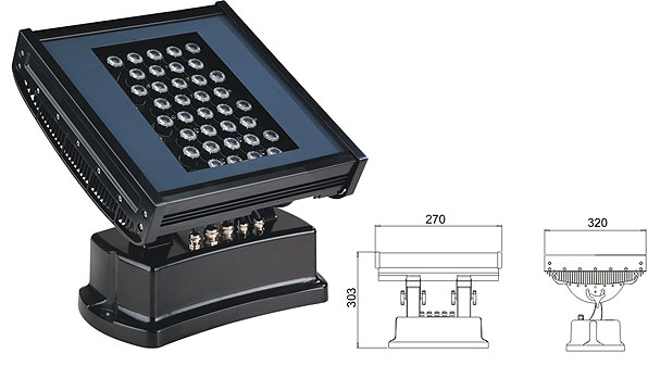 Led DMX argia,LED harraskagailu argia,108W 216W LED koordenatu karratua 1, LWW-7-36P, KARNAR INTERNATIONAL GROUP LTD