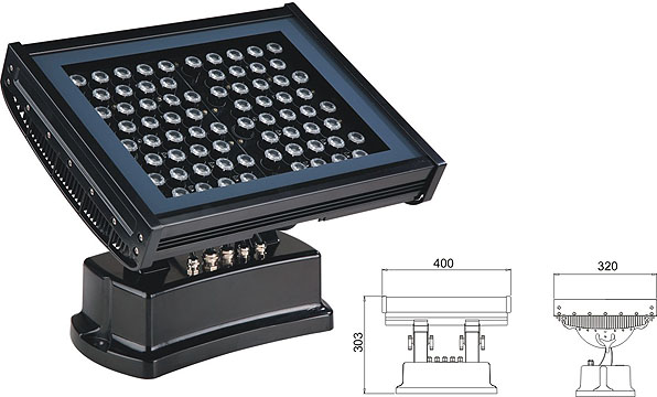 Led DMX argia,lanerako argia,108W 216W LED koordenatu karratua 2, LWW-7-72P, KARNAR INTERNATIONAL GROUP LTD