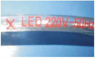 Guangdong udhëhequr fabrikë,LED dritë strip,110 - 240V AC SMD 5050 Led dritë shirit 11, 2-i-1, KARNAR INTERNATIONAL GROUP LTD