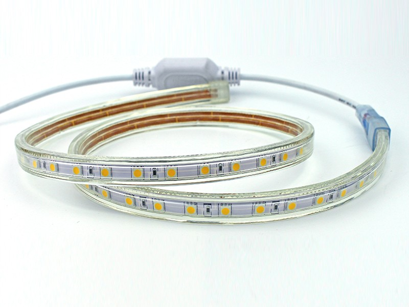Guangdong udhëhequr fabrikë,LED dritë strip,110 - 240V AC SMD 5050 Led dritë shirit 4, 5050-9, KARNAR INTERNATIONAL GROUP LTD