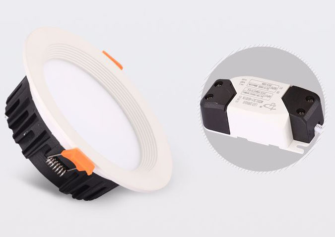Led DMX argia,argiztapen buru,China 9w downed Led downlight 2, a2, KARNAR INTERNATIONAL GROUP LTD