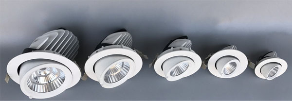 Led DMX argia,behera argia,25w elefantoa enborraren iraupena Led downlight 1, ee, KARNAR INTERNATIONAL GROUP LTD