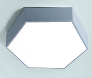 Led DMX argia,LED proiektua,18W Hexagon buru sabaia argi 7, blue, KARNAR INTERNATIONAL GROUP LTD