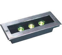 Led DMX argia,LED iturriak,36W Plaza Buried Light 6, 3x1w-120.85.55, KARNAR INTERNATIONAL GROUP LTD