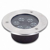 Led DMX argia,LED artoaren argia,24W Plaza Buried Light 3, 6x1W, KARNAR INTERNATIONAL GROUP LTD